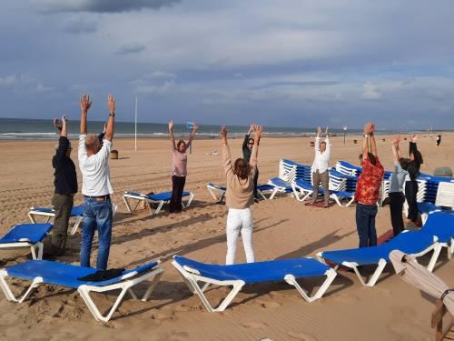Evita Beach Event mindfulness workshop