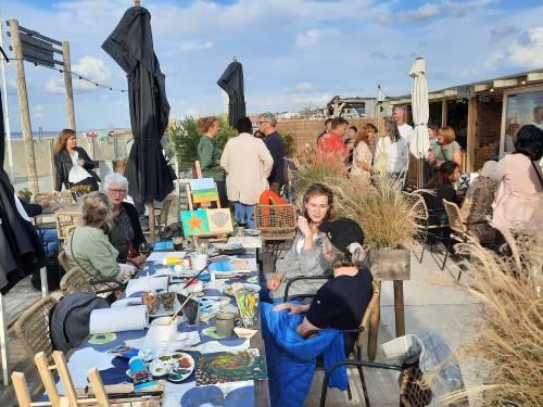 Evita Beach Event terras